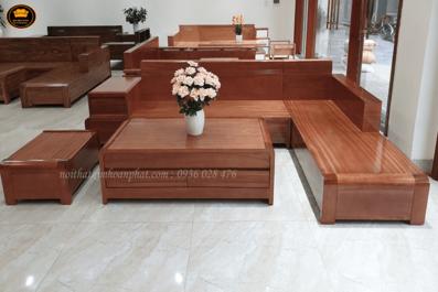 Sofa gỗ phong cách cổ điển