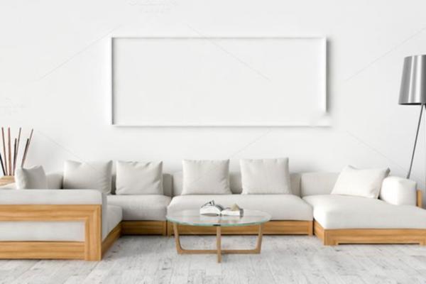 mẫu sofa gỗ công nghiệp đẹp