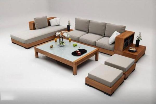 sofa gỗ cho nhà hàng giá rẻ