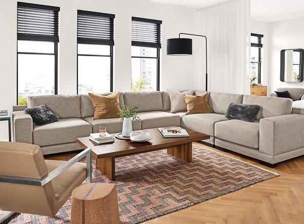 hướng dẫn bố trí sofa phòng khách