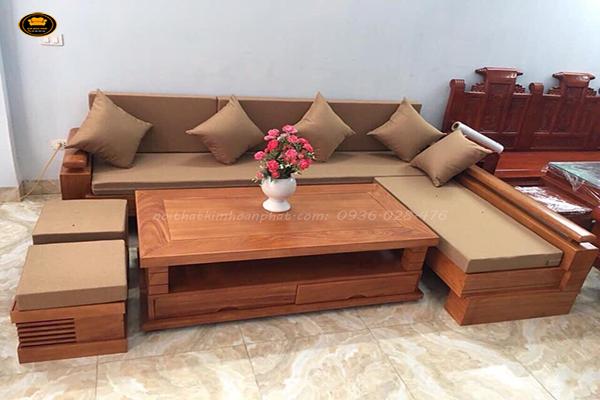 đệm lót cho ghế sofa gỗ