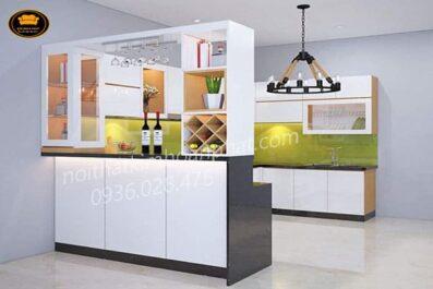 Tủ bếp chất liệu nào là bền nhất