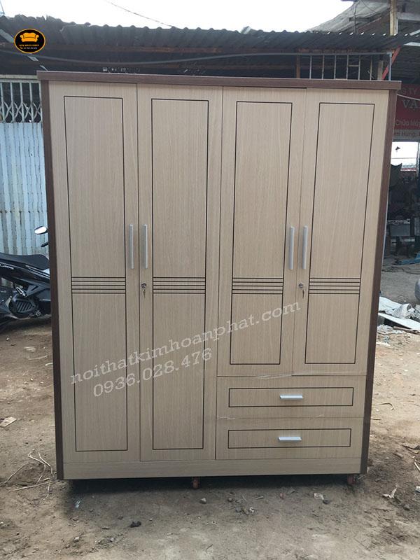 Tủ quần áo gỗ công nghiệp 1m6